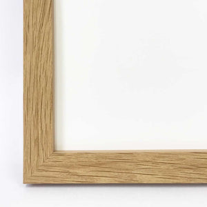 A3 Frame - Oak Finish