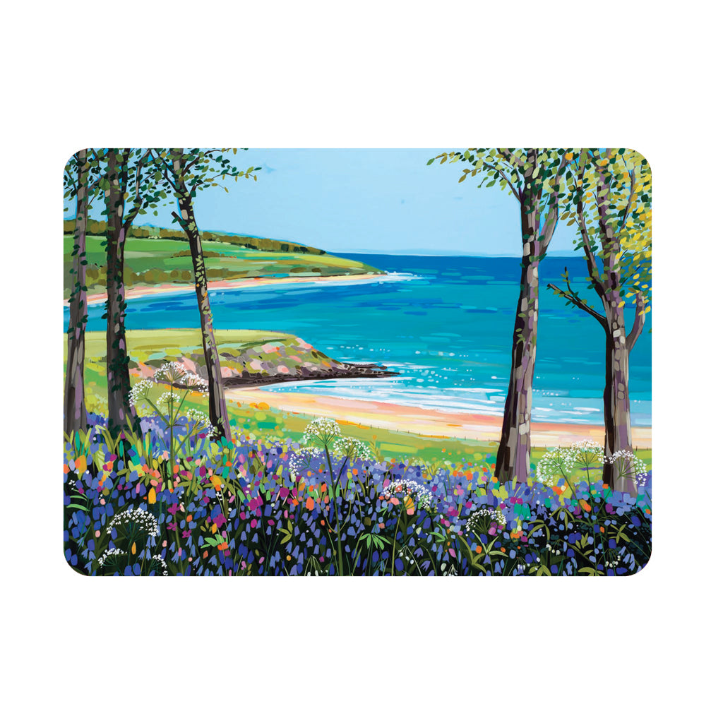 Bluebells at Traeth yr Ora - Single placemat