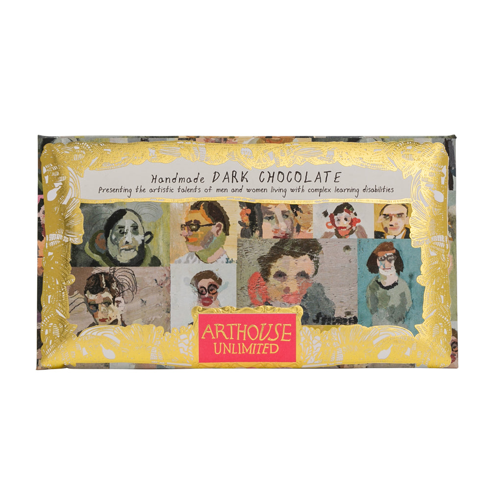 Chocolate Bar Portraits - Dark Chocolate