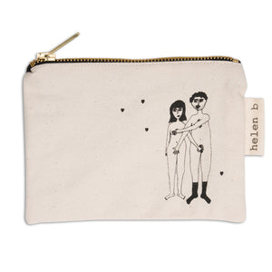 Mini Pouch - Naked Couple