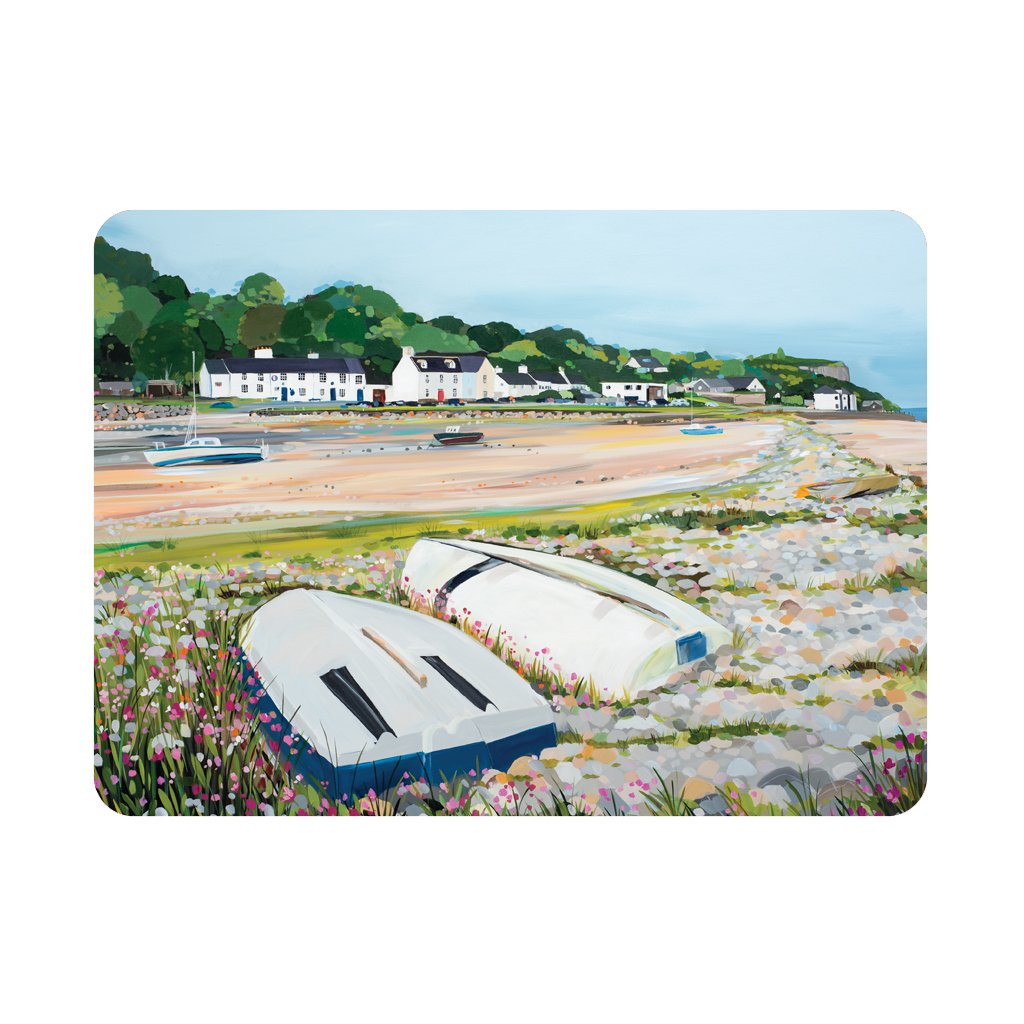 Red Wharf Boats - Single placemat