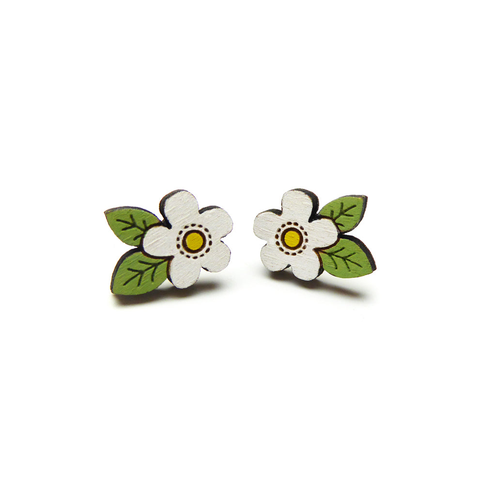 Daisy Stud Earrings by Layla Amber