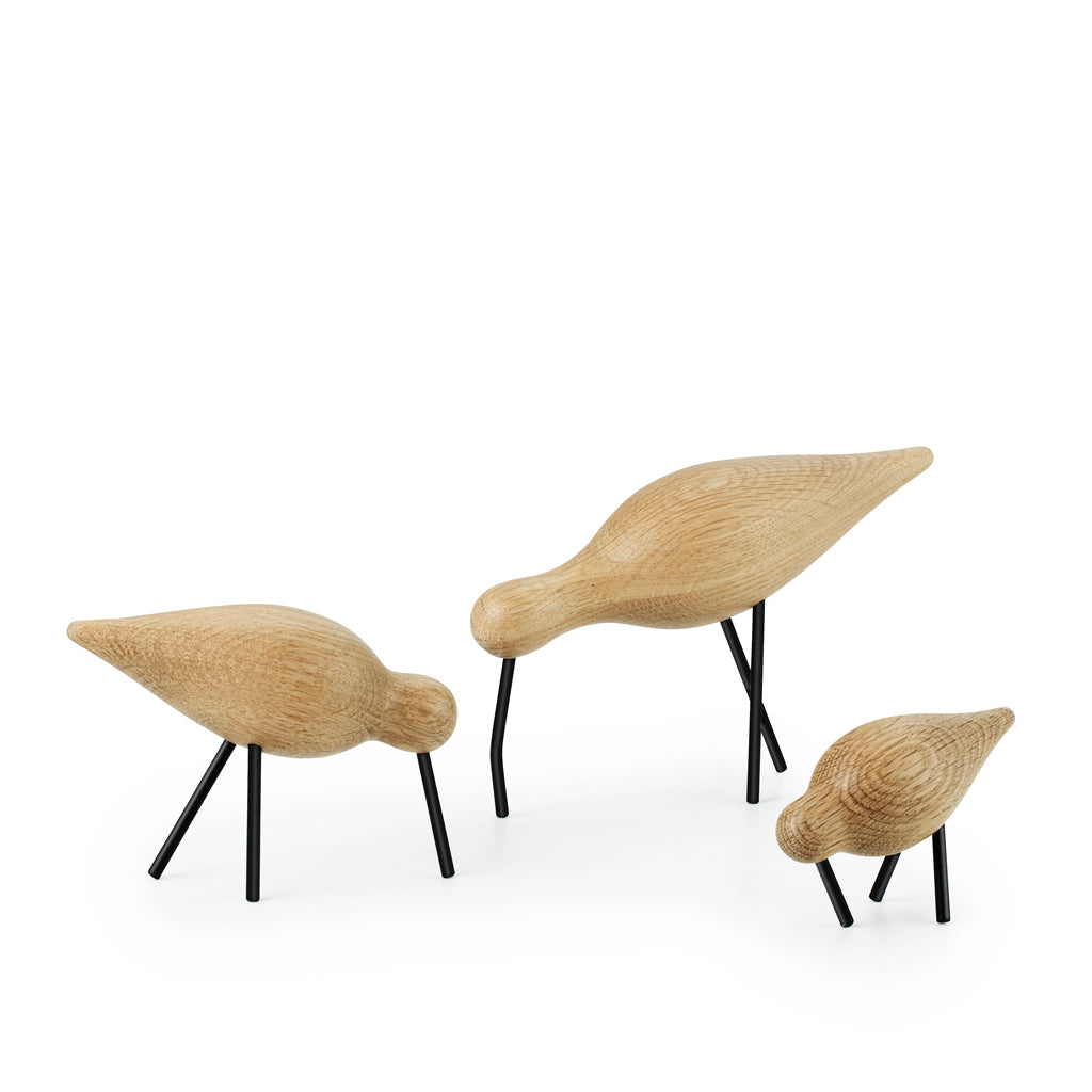 Normann Copenhagen - Shorebirds Natural & Black