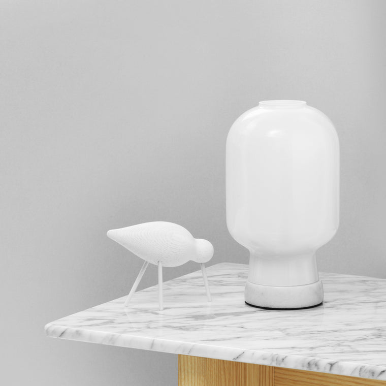 Normann Copenhagen - Shorebirds White & White