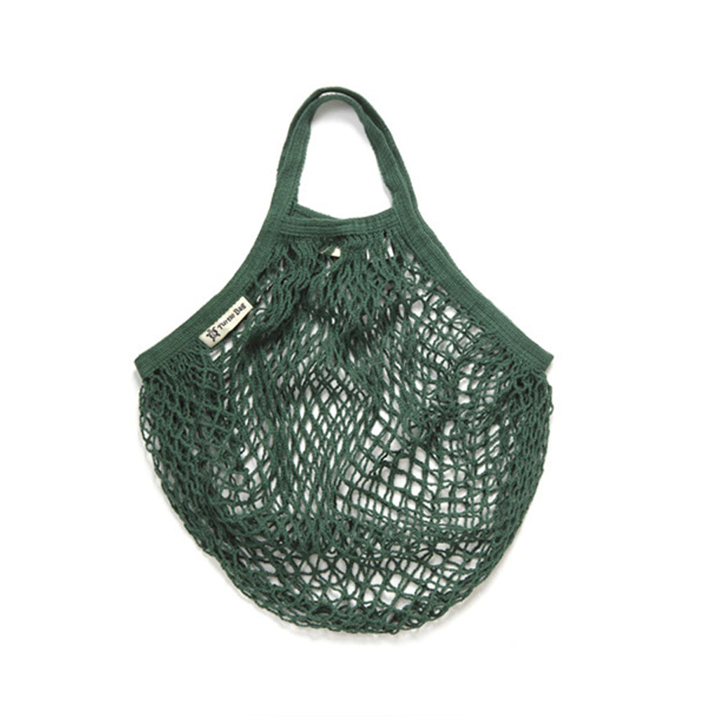 Organic Cotton Short Handled - Bottle Green