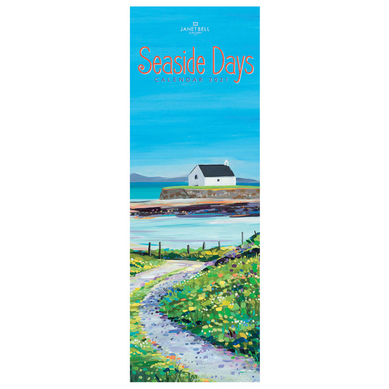Seaside Days 2021 Calendar by Janet Bell