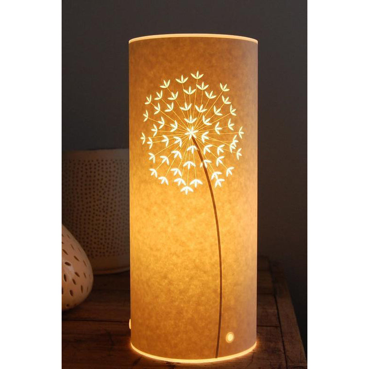 Small Cylindrical Table Lamp - Allium