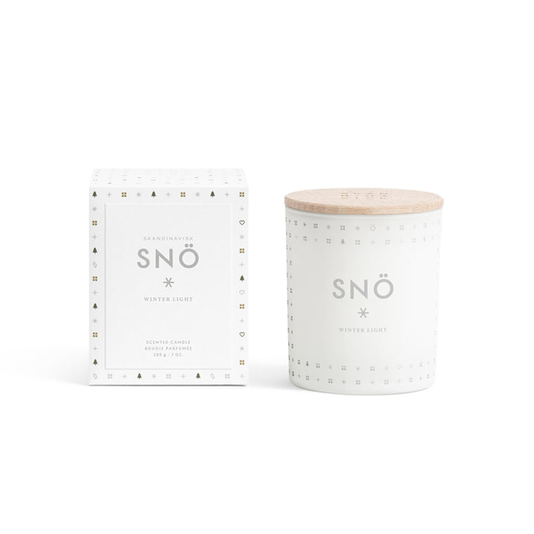 Candle - Snö
