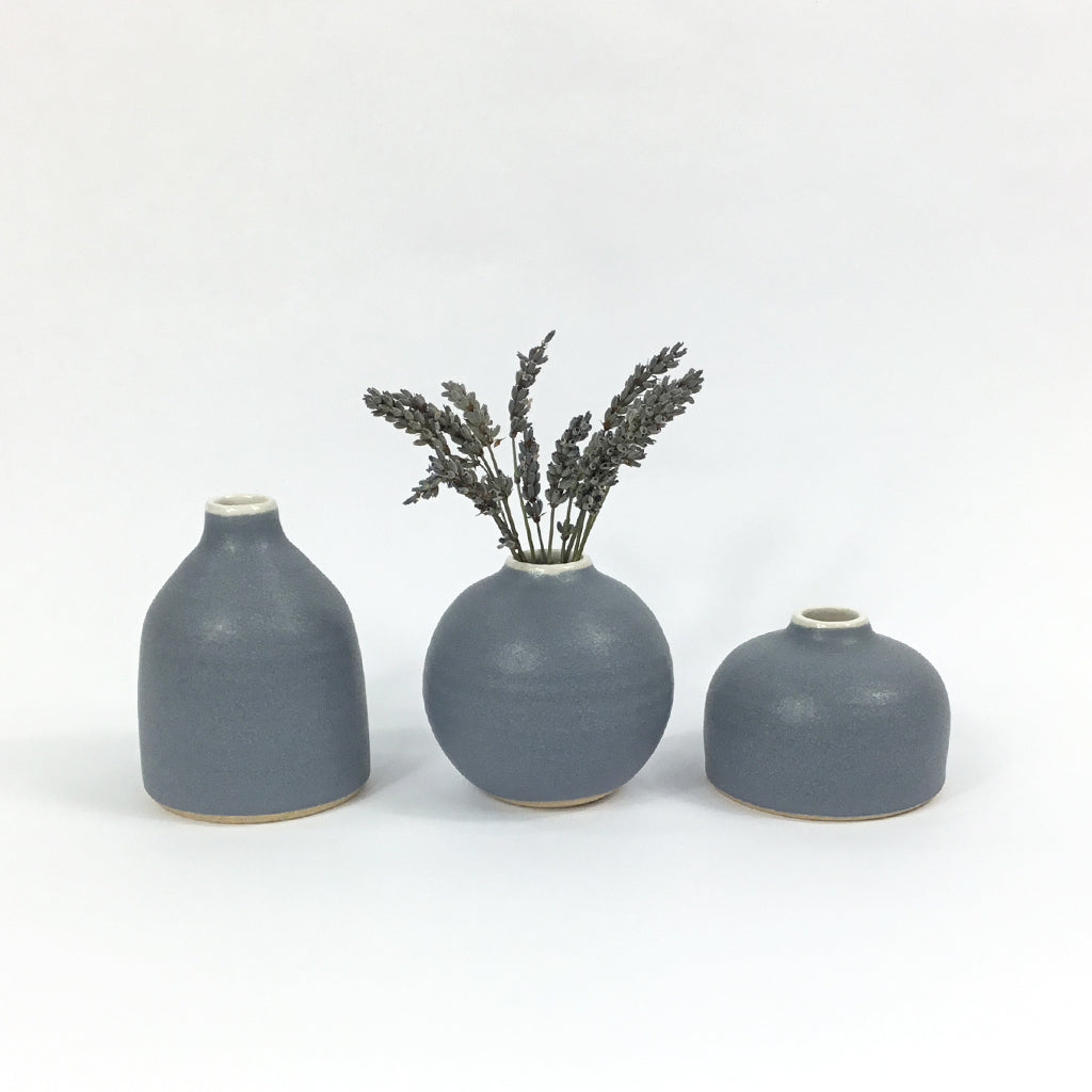 Bud Vase - Denim
