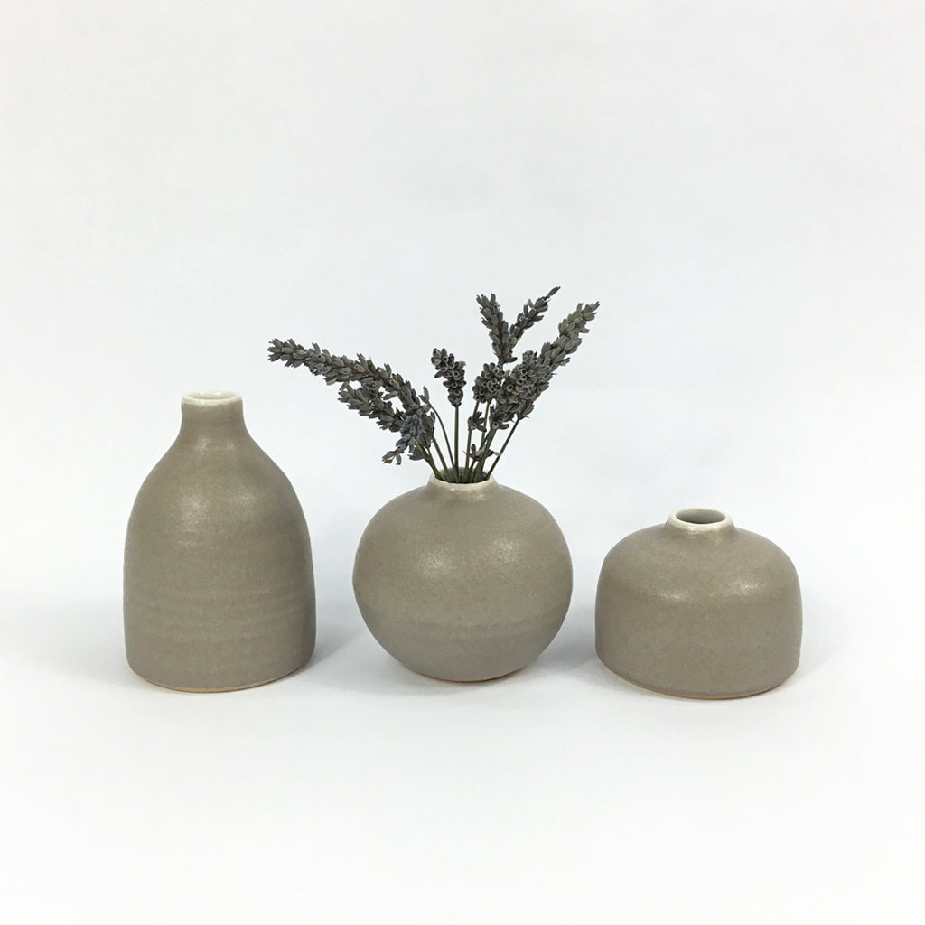 Bud Vase - Dark Grey