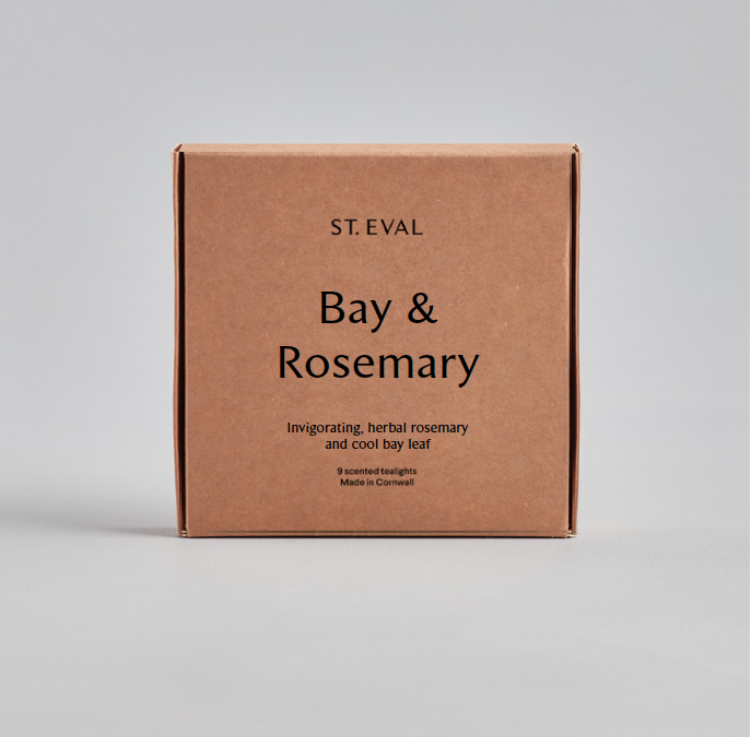 Scented Tea Lights - Bay & Rosemary