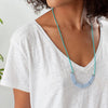 Lapa Necklace Light Blue & Turquoise