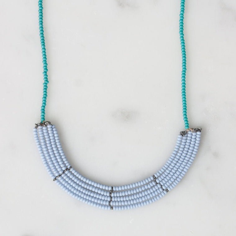 Bohemia Design - Lapa Necklace Light Blue & Turquoise