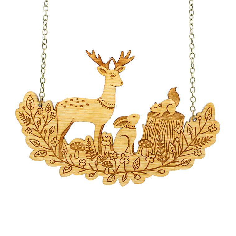 Forest Friends Necklace