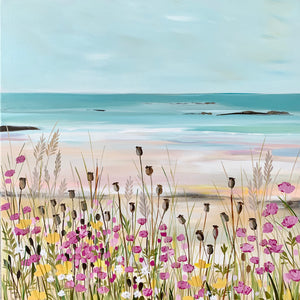 Seapinks - Original Painting by Janet Bell