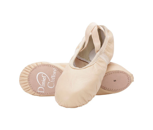 Daniel Clifford Split-Sole Leather Ballet Shoe