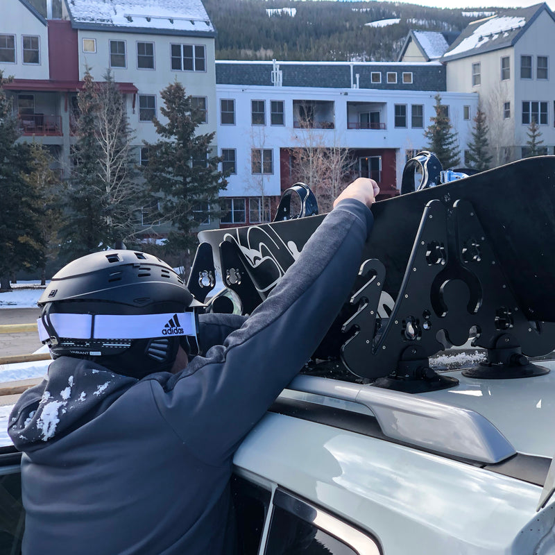 SeaSucker Pallavicini ski rack