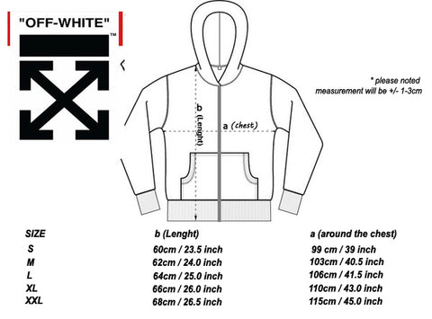 OFF WHITE Hoodie Sizing Review