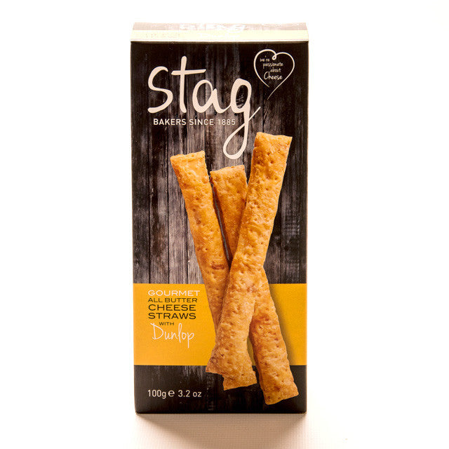 Gourmet All Butter Cheese Straws with Dunlop