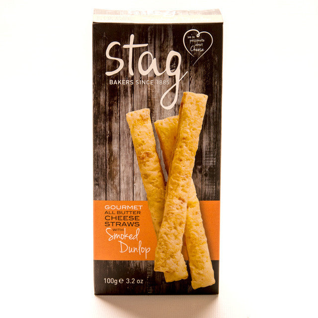 Gourmet All Butter Cheese Straws with Smoked Dunlop