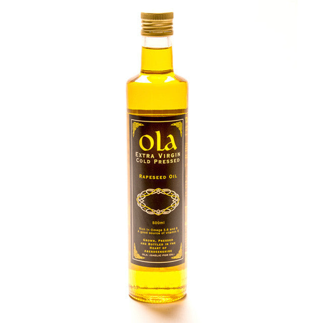 Extra Virgin Cold Pressed Rape Seed Oil (500ml)