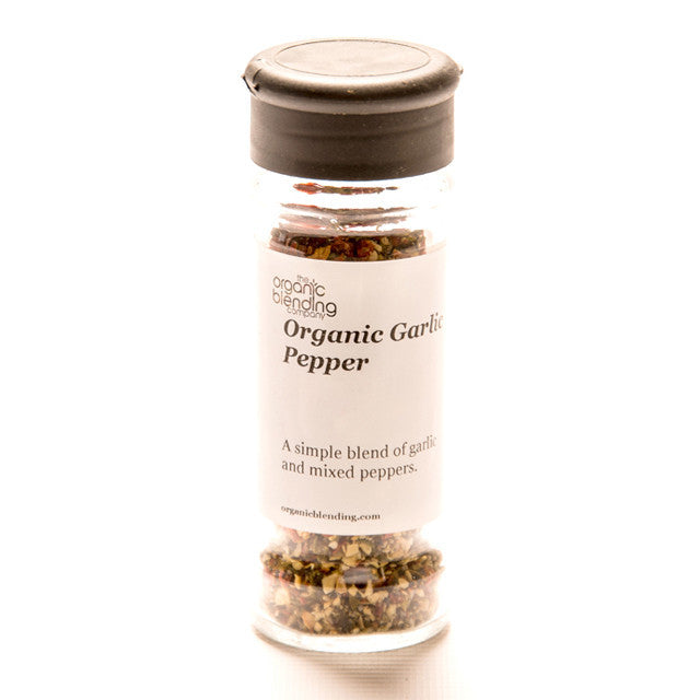 Organic Garlic Pepper