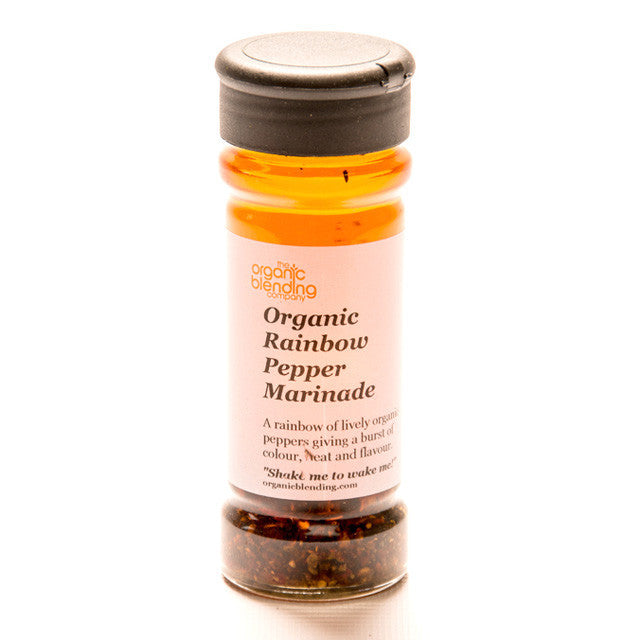 Organic Rainbow Pepper Marinade