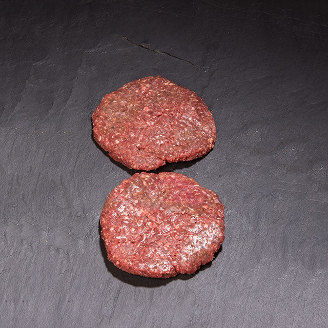 6oz venison sea salt & cracked black pepper burger (pack of two)