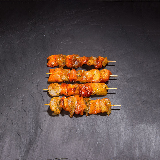 Seafood Kebabs (Priced individually)