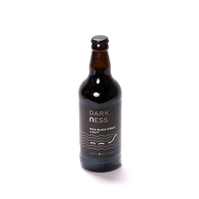Dark Ness Rich Black Stout 4.5% (500ml)