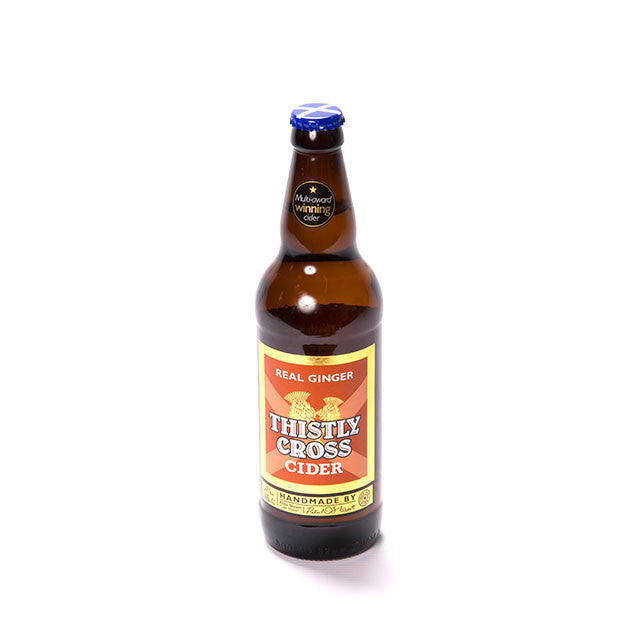Thistle Cross Real Ginger Cider 4% (500ml)