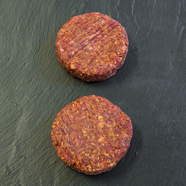4oz dirty texan lava burger (pack of two)