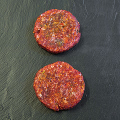4oz paprika steak burger (pack of two)