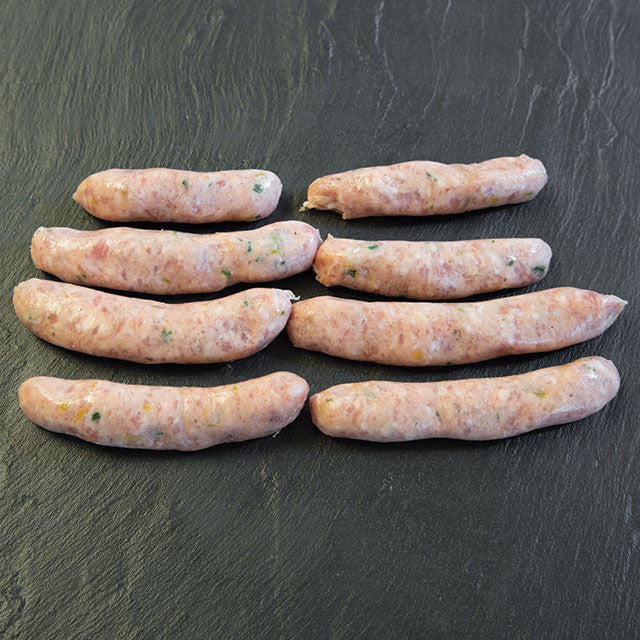 Pork & leek sausages (500g)