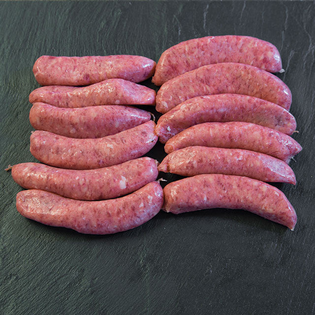 Beef sausages (454g)