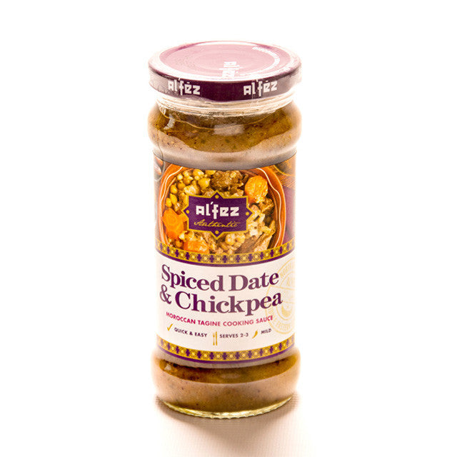 Spiced Date & Chickpea Cooking Sauce