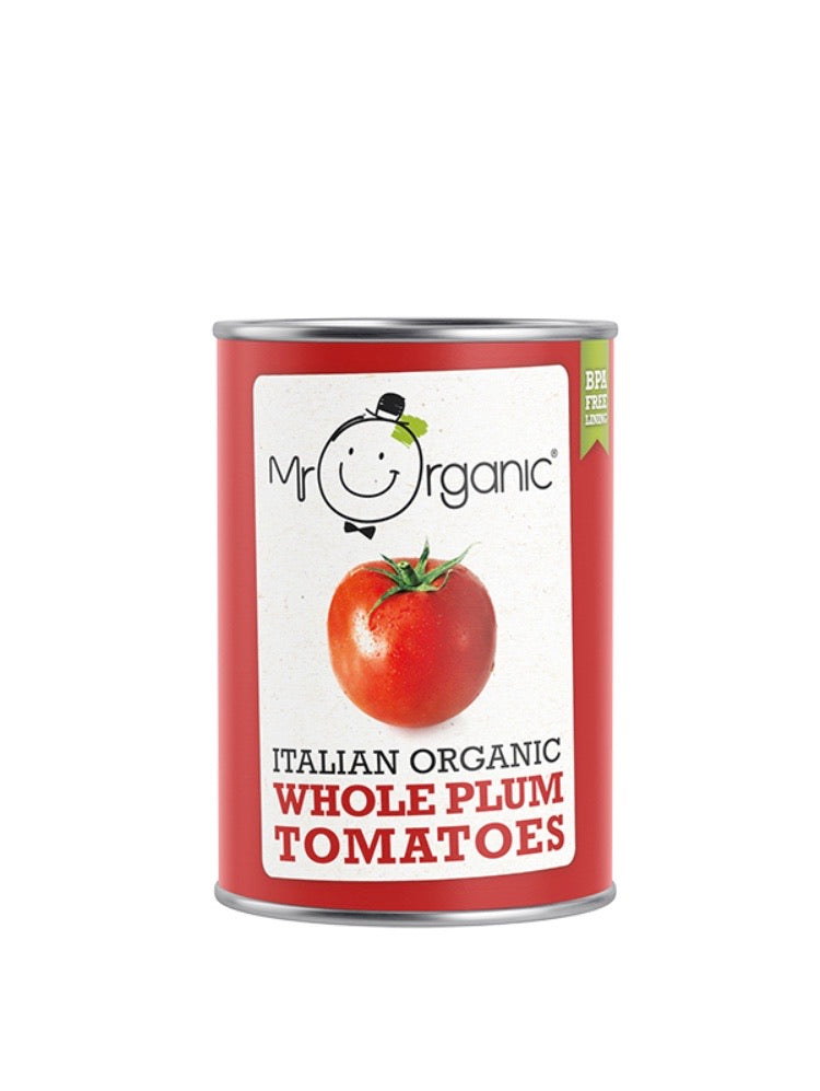 Mr Organic Plum Tomatoes