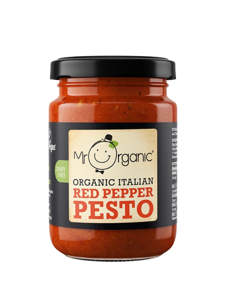 Mr Organic Red Pepper Pesto
