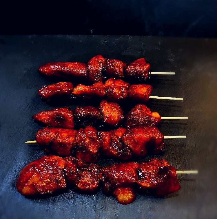 BBQ Chicken Kebabs (pack of five)