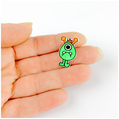 Little Monster pin badge
