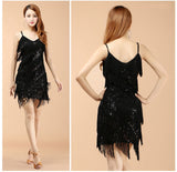 High Quality Sexy Tassel Latin Dance Dress Fringe Latin Dance Costumes for Women