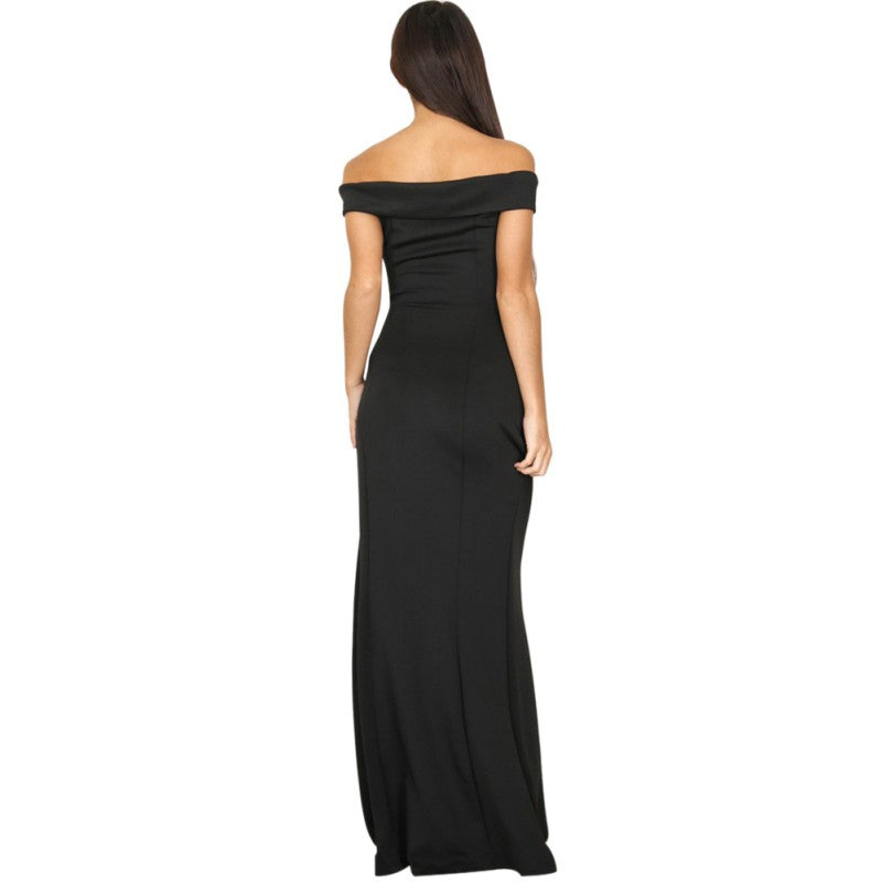 Summer Dress Bohemian Women Evening Maxi Formal Party Dresses Strapless Solid Spring Dresses