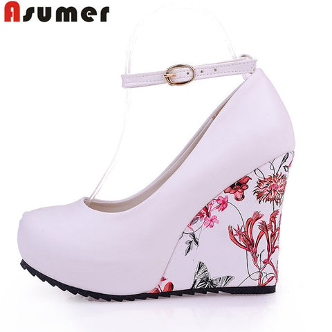 Wedges Canvas Woman Platform Sandals Open Toe Breathable Casual Shoes Platform Wedge Sandals - Shoes
