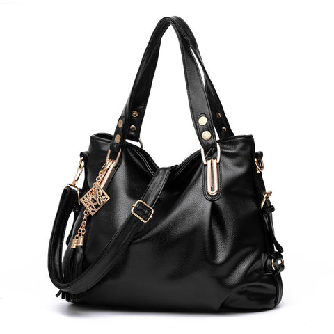Women Handbag PU Leather Bags Handbags Portable Shoulder Office Hobos Bag Totes