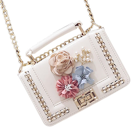 Milisente Women Evening Bags Ladies Clutch Bag Flower Female Small Beaded Wedding Purses