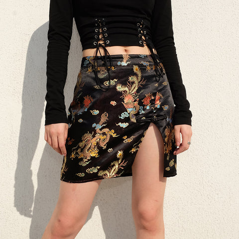 Women Temperament Off Shoulder Jacket Comfortable Vintage Pencil Skirt Cute 2 Piece Set