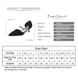 Mary Jane Women Pumps Shoes Pointed Party Heels Med Heel Designer Crystal Shoes Yellow