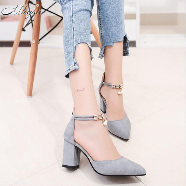 ... Summer Women Shoes Pointed Toe Pumps Shoes High Heels Boat Wedding Shoes  ...