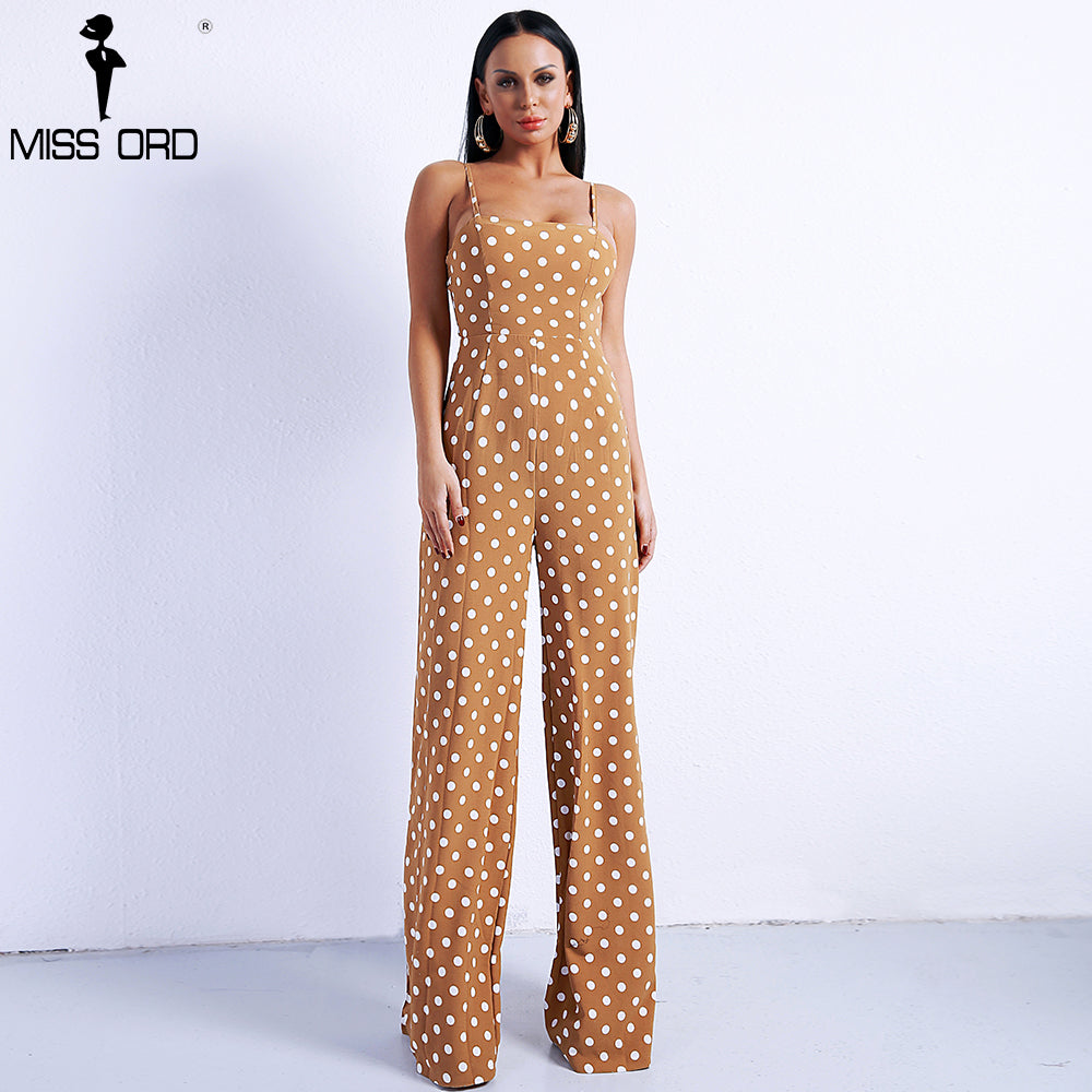 6e93b6c135b ... Spring   Summer Off Shoulder Dot Rompers Harness Backless Overalls Lace  Up Jumpsuit ...