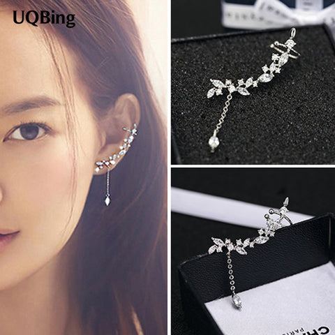 Women Jewelry Set Embellished Crystals Swarovski Necklace Stud Earring Set Angel Wing Jewelry